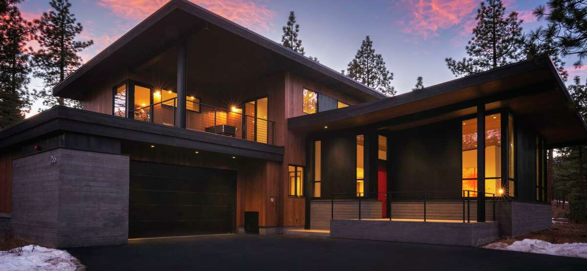 Homes at Clear Creek Tahoe feature contemporary designs and refined material palettes.