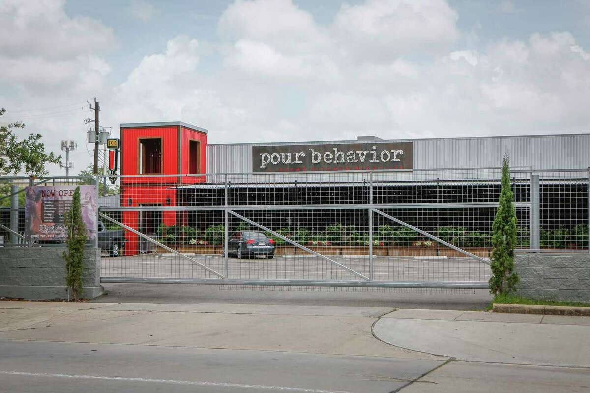 """Mayor Sylvester Turner named Pour Behavior 2211 Travis to his Mayor's """"Wall of Shame"""" Tuesday, June 30, 2020, in Houston."""