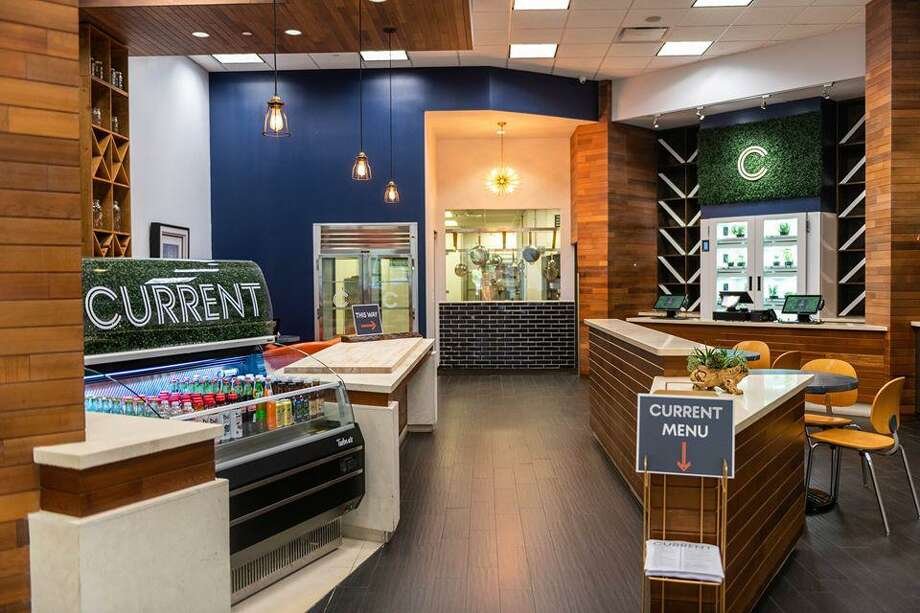 The area on the ground floor of the landmark off of Pine Street previously occupied by Green Light is now home to a new eatery, Current. Photo: Courtesy Of Current