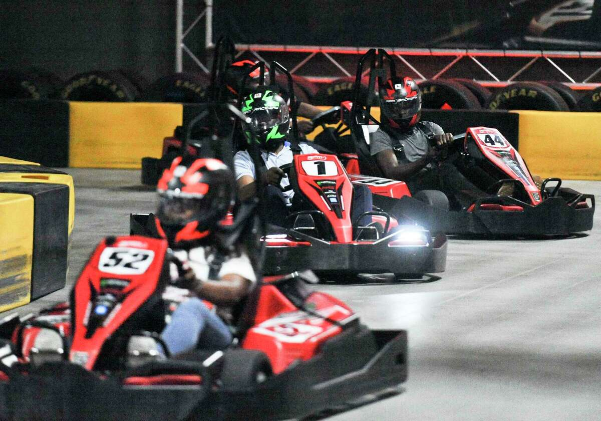 After temporarily closing in mid-March 2020 because of the coronavirus crisis, RPM Raceway is set to re-open on July 3, 2020. If you'd like to experience the speed and competition of a racetrack that's not a public highway, there are indoors kart racing venues in Montville (Supercharged Indoor Karting & Trampoline Park, affiliated with Mohegan Sun), Mashantucket (MONZA World Class Karting in the Fox Tower lower levels, via elevator) and Stamford (RPM Raceway, 600 West Ave.). Prices for an intense 10-minute-or-so race are in the $20-$30 range.