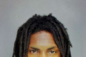 """Demetrus """"Take Down"""" Robinson, 21, was charged with attempted first-degree assault, third-degree assault, first-degree reckless endangerment, illegally firing a firearm, possession of a pistol without a permit, criminal mischief and breach of peace."""