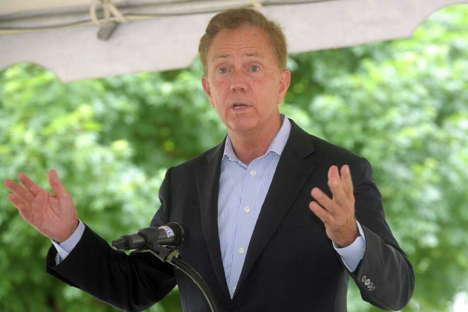 Gov. Ned Lamont speaks during a June news conference on the University of Bridgeport. Photo: Ned Gerard / Hearst Connecticut Media / Connecticut Post
