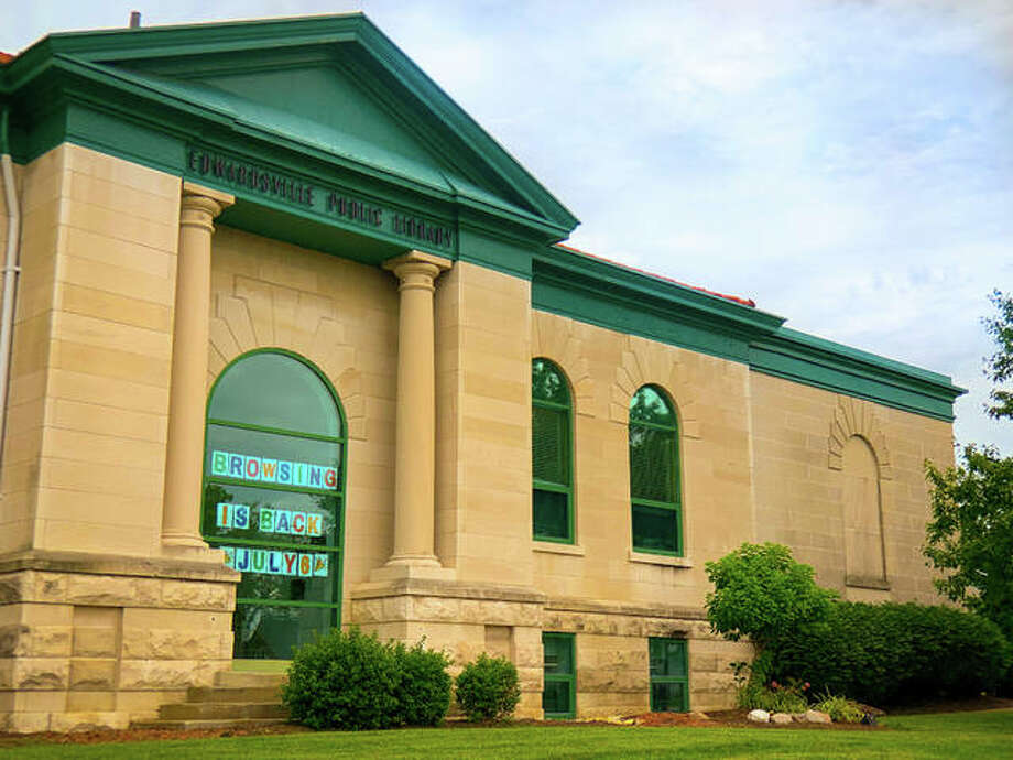 Edwardsville Public Library will move into its next phase of reopening Monday. The library is gradually reopening to the public under COVID-19 guidelines. Photo: For The Intelligencer