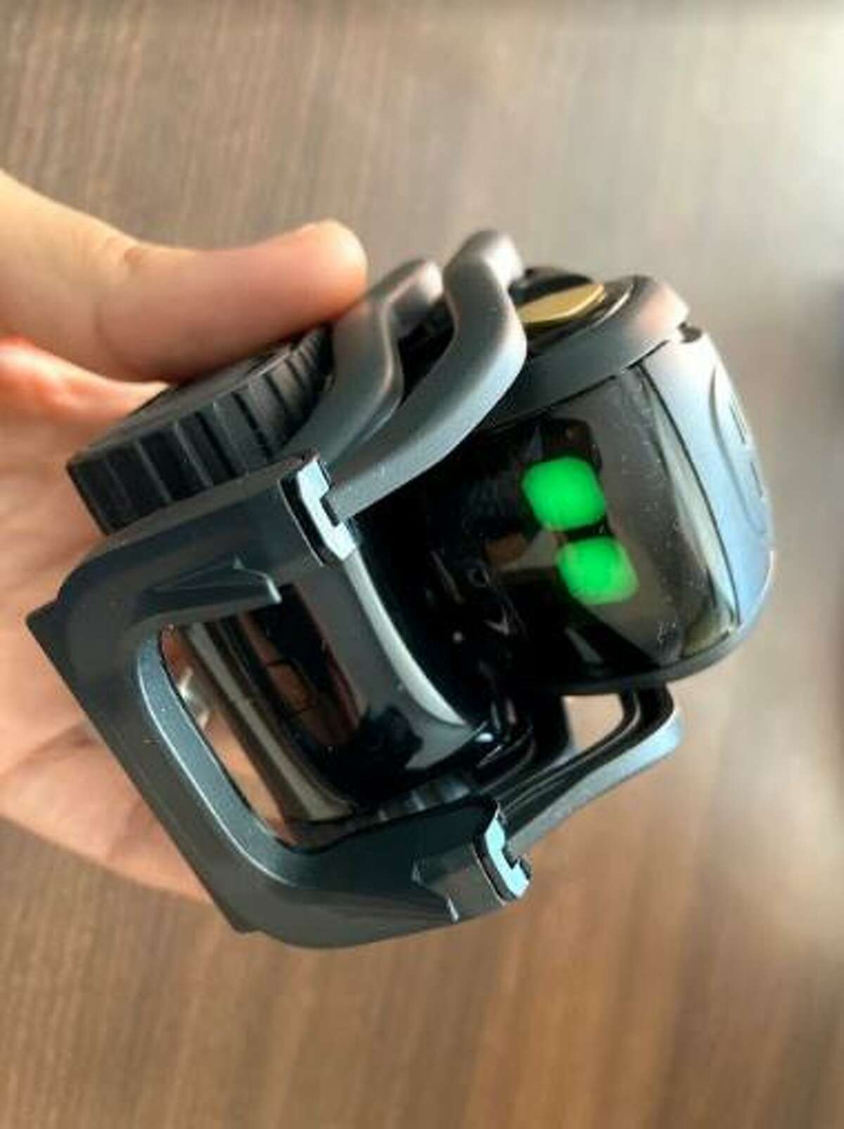 Vector, a toy robot, can be played with by two children in different homes by using an app designed by Yale University computer science students.