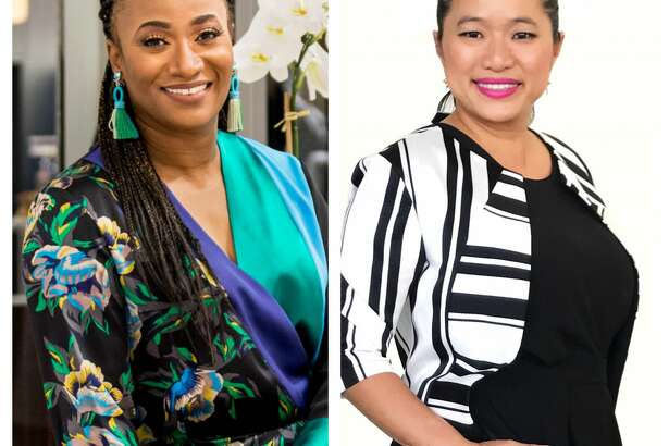The Joy Hour with Houston Chronicle's Joy Sewing features Andrea Bonner, chair of the fashion program at Houston Community College, and Sydney Dao, director of Retail for Houston First.