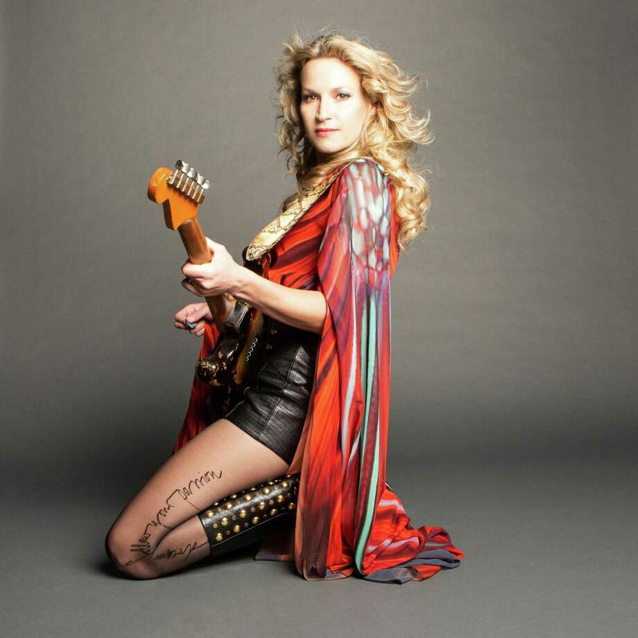 Blues rock guitar goddess Ana Popovic is scheduled to perform Oct. 1 at Infinity Hall in Hartford. Photo: Ana Popovic / Contributed Photo