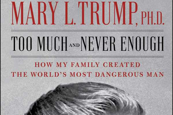 """Too Much and Never Enough: How My Family Created the World's Most Dangerous Man"" by Mary L. Trump, Donald Trump's niece."