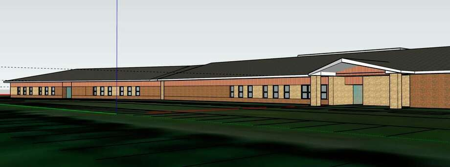 This is a draft of what would be the district's new elementary school building (replacing Crystal Lake Elementary and Platte River Elementary), should the bond pass. (Submitted photo)