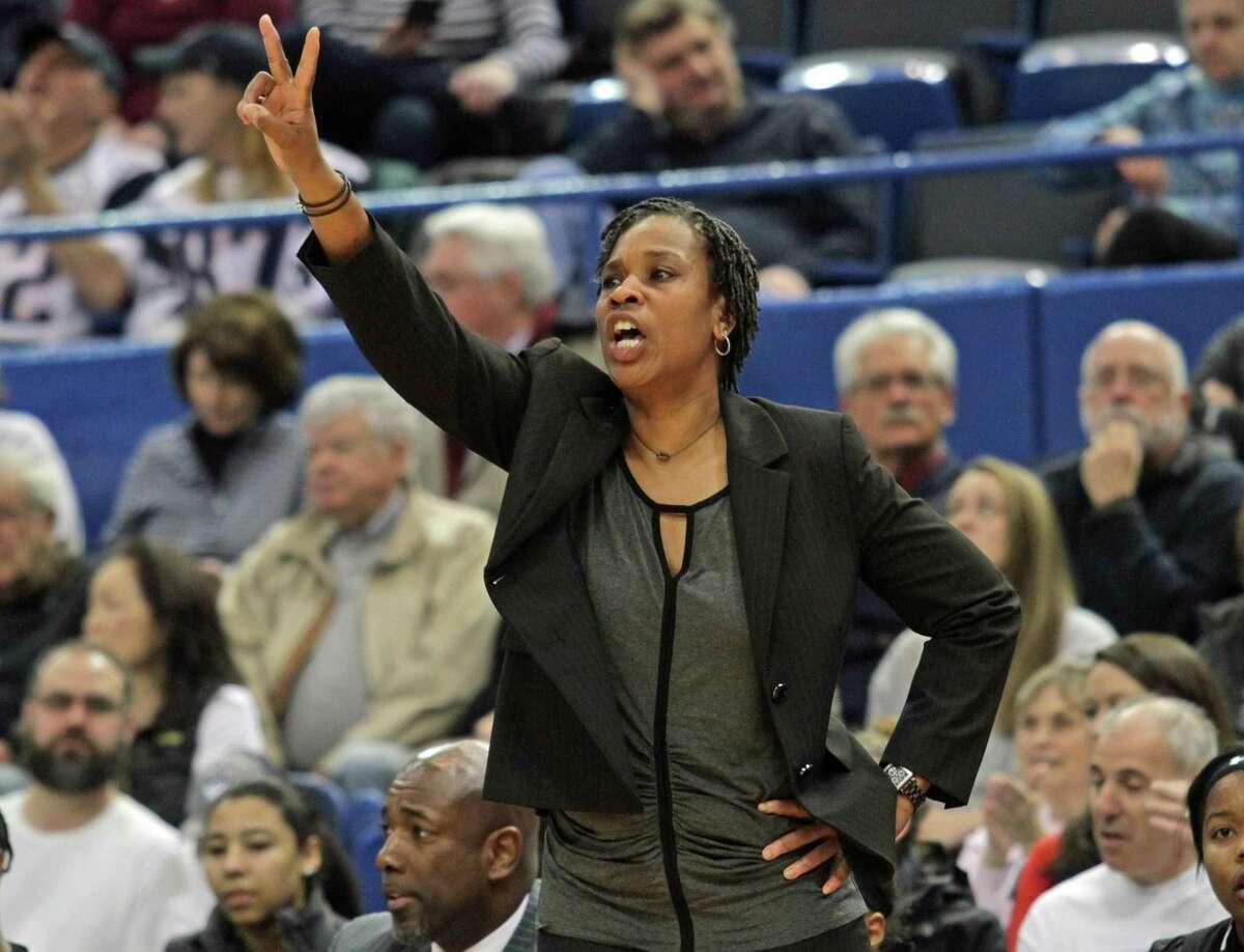 Former UConn player and coach Jamelle Elliott