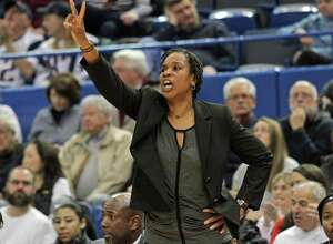Former UConn player and coach Jamelle Elliott