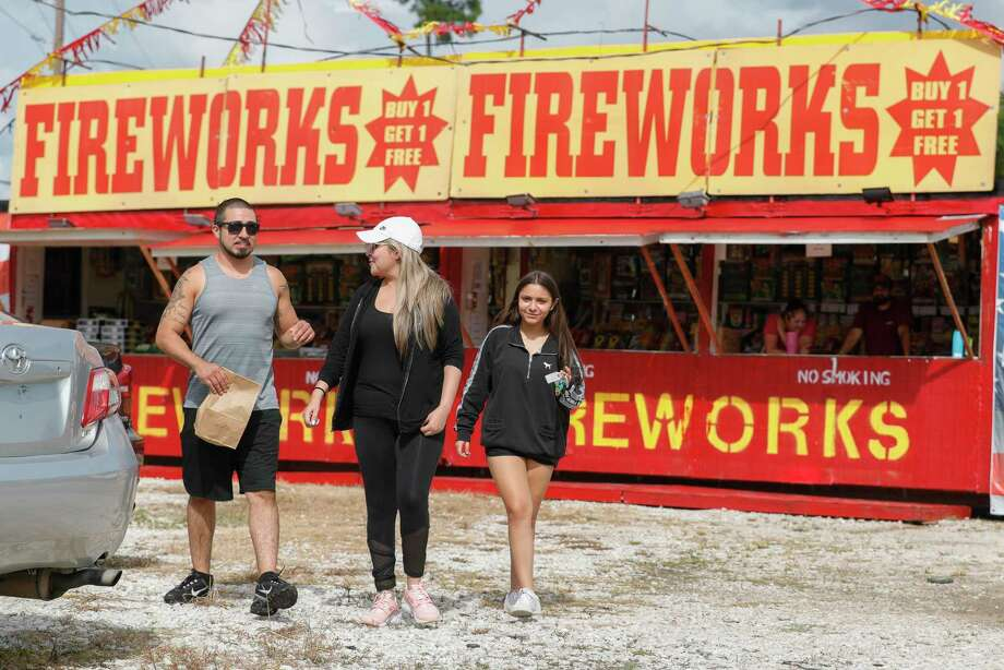With the nation's birthday set for Saturday, officials in The Woodlands are repeating an annual message: the use and sale of all fireworks is totally banned in the township. And, those who violate the covenants prohibiting fireworks may be subject to investigation. Nick Wolda, the communications director for the township, said the covenants specifically ban all use of any type of fireworks as well as the sale of the incendiary devices. Photo: Jason Fochtman, Houston Chronicle / Staff Photographer / 2020 © Houston Chronicle