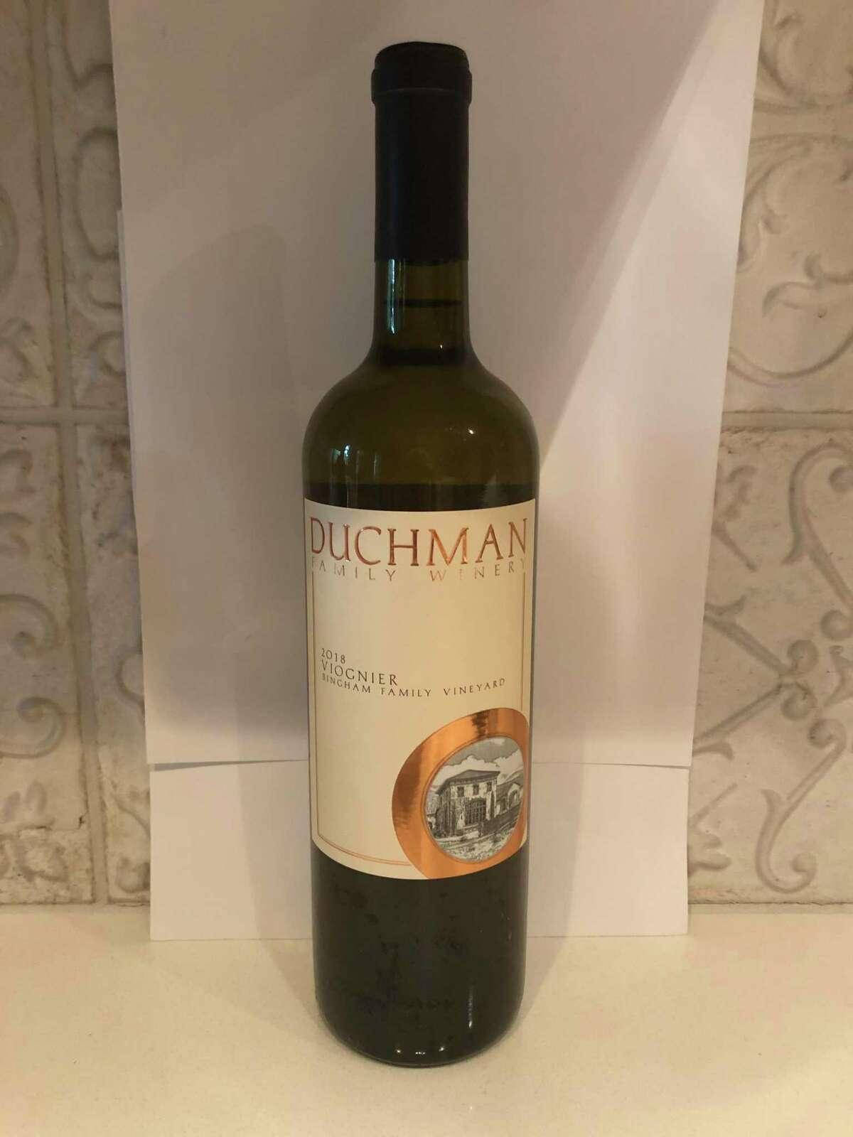 2018 Duchman Family Wines Viognier