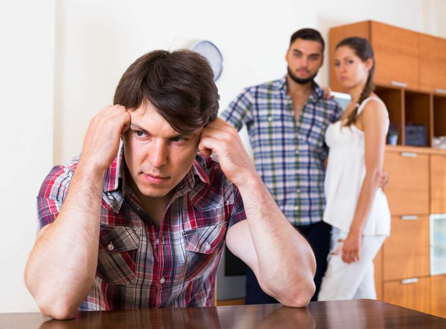 A man sharing a home with a couple doesn't know what to do. Photo: JackF/Getty Images/iStockphoto / JackF