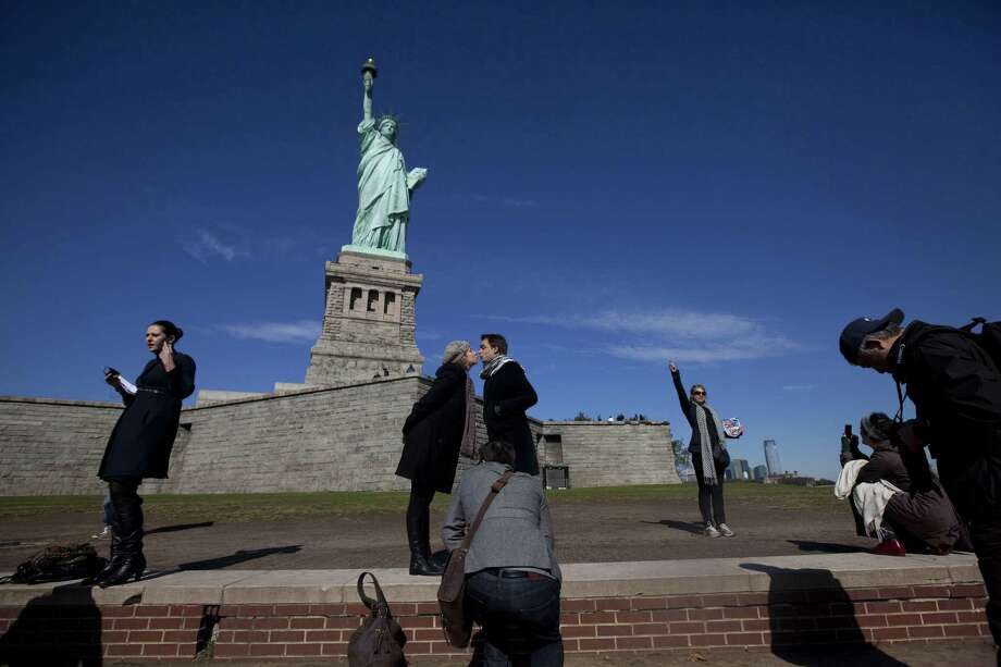 The Statute of Liberty Photo: Michael Nagle / Getty / 2011 Getty Images