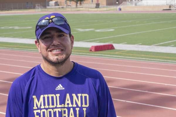Ector Lopez, Midland High government teacher, football and track coach. 07/01/2020 Tim Fischer/Reporter-Telegram