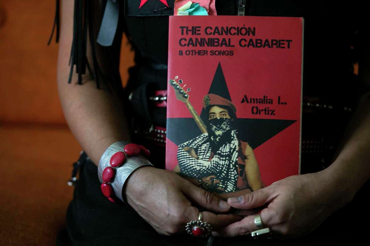 """Amalia L. Ortiz's poetry collection, """"Canción Cannibal Cabaret & Other Songs,"""" tells of an uprising of marginalized people."""