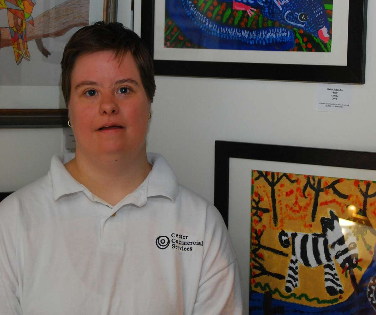 Heidi Schroeder, who has Down Syndrome, is a resident of a Wildwood Programs group home, where residents continue to deal with coronavirus restrictions imposed by New York Gov. Andrew Cuomo. (Photo submitted by Joanne Long)
