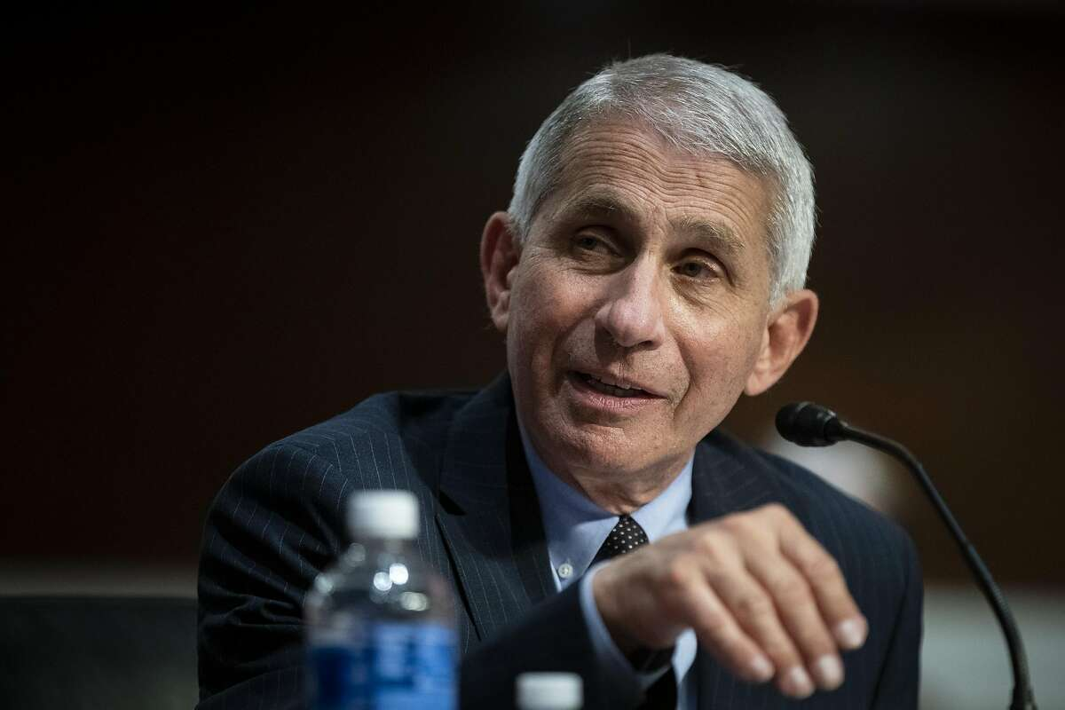 Anthony Fauci (AN-thon-nee FOW-chee) Director of the National Institute of Allergy and Infectious Diseases.