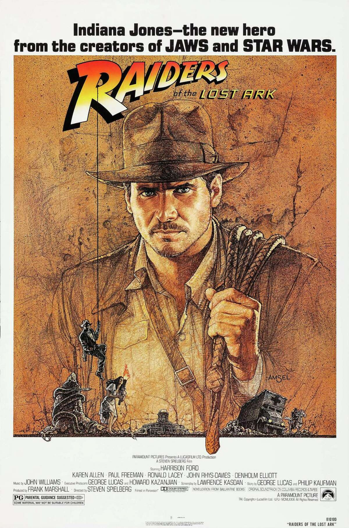 """In 1981, with a couple of hits under his belt, Stephen Spielberg knocked it out of the park with """"Raiders of the Lost Ark,"""" which he says was inspired deeply by the 1948 Bogart classic The Treasure of the Sierra Madre."""