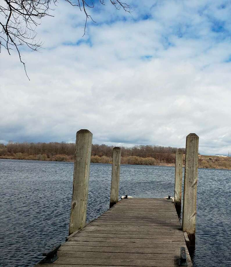Ninth Street Boat Launch on Manistee Lake is one of the locations the city tests E.coli levels after a sanitary sewer overflow event. Photo: File Photo