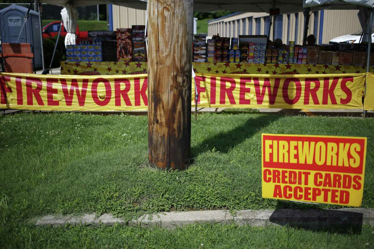Check to make sure fireworks are legal in your area before buying or using.