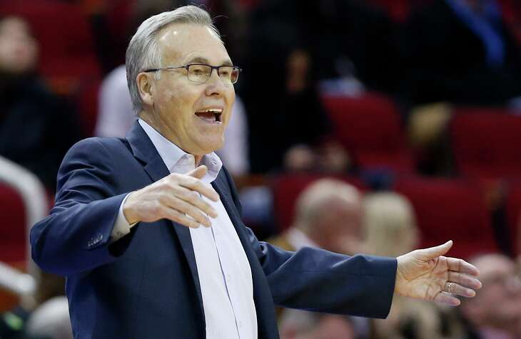 Mike D'Antoni, the Rockets' 69-year-old coach, says he hasn't heard anything from the NBA about not being with his team in Orlando because he's in an age group at a higher risk to contract COVID-19.