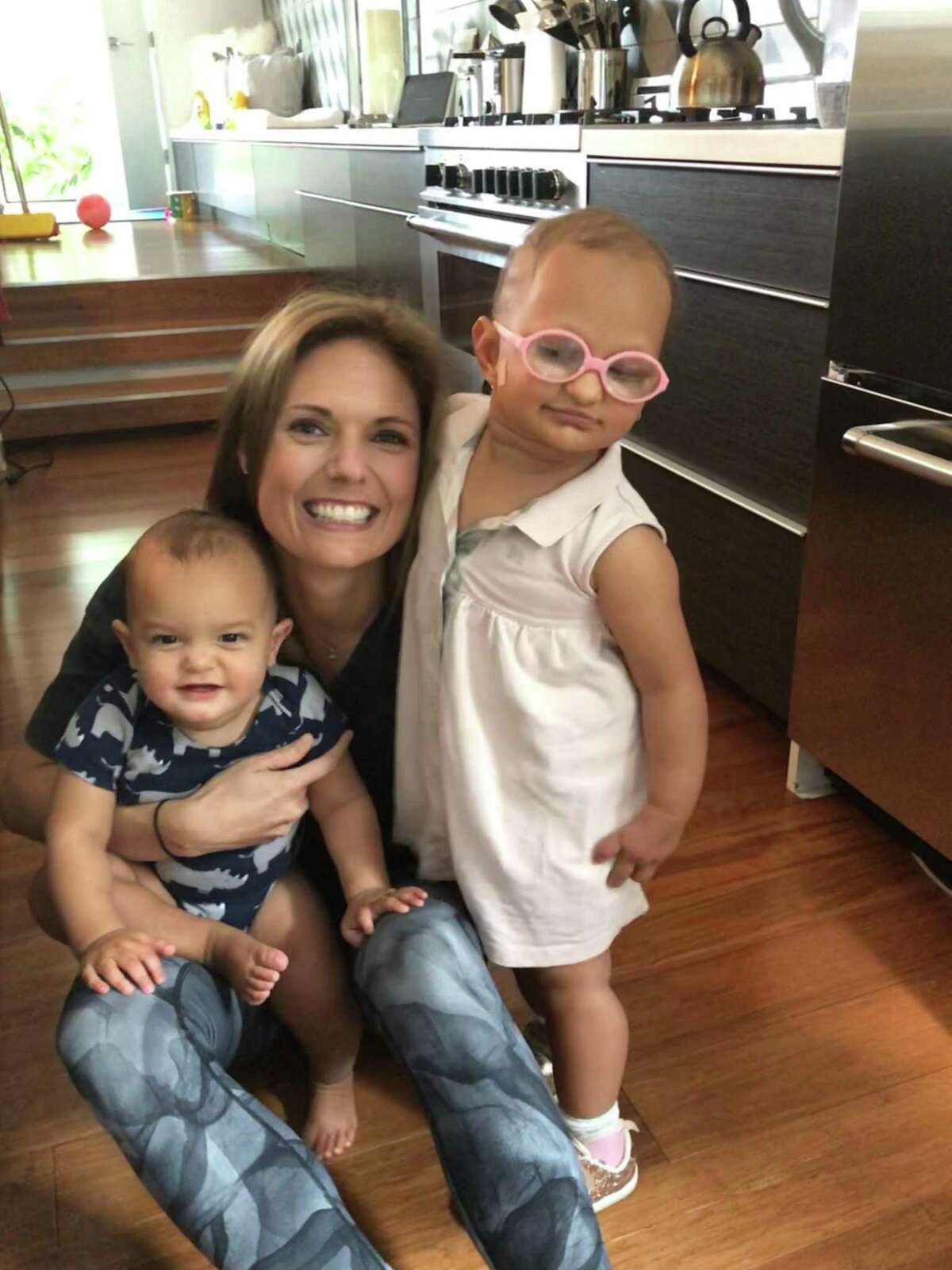 Marci Sharif is mom to an 11-month-old son and a 2-year-old daughter.