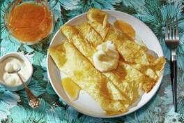 Serbian Croatian Pancakes (Palacinke).