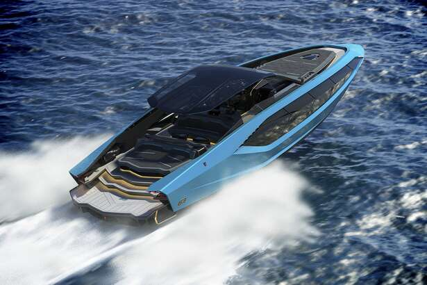 Can't get your hands on the Sián hybrid supercar? Get the boat instead.