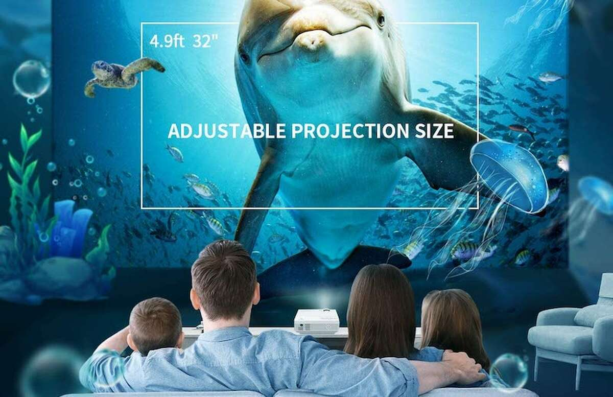 VANKYO LEISURE 3 Mini Projector Price: $119.99 16,853 Reviews, 4.4 Stars Big fan of this projector!