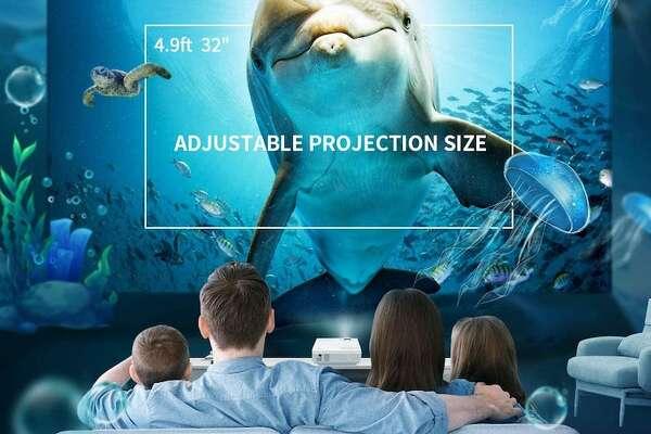 VANKYO LEISURE 3 Mini Projector Price: $119.99 16,853 Reviews, 4.4 Stars