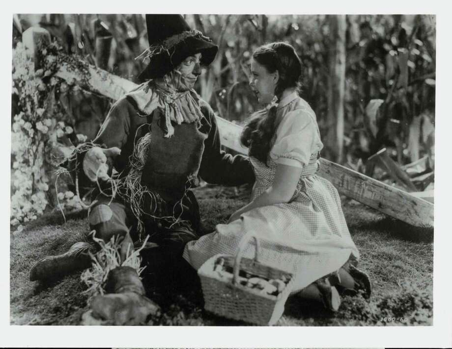 "Ray Bolger and Judy Garland star in ""The Wizard of Oz."" Photo: / CBS (Columbia Broadcasting System) / San Antonio Express-News"