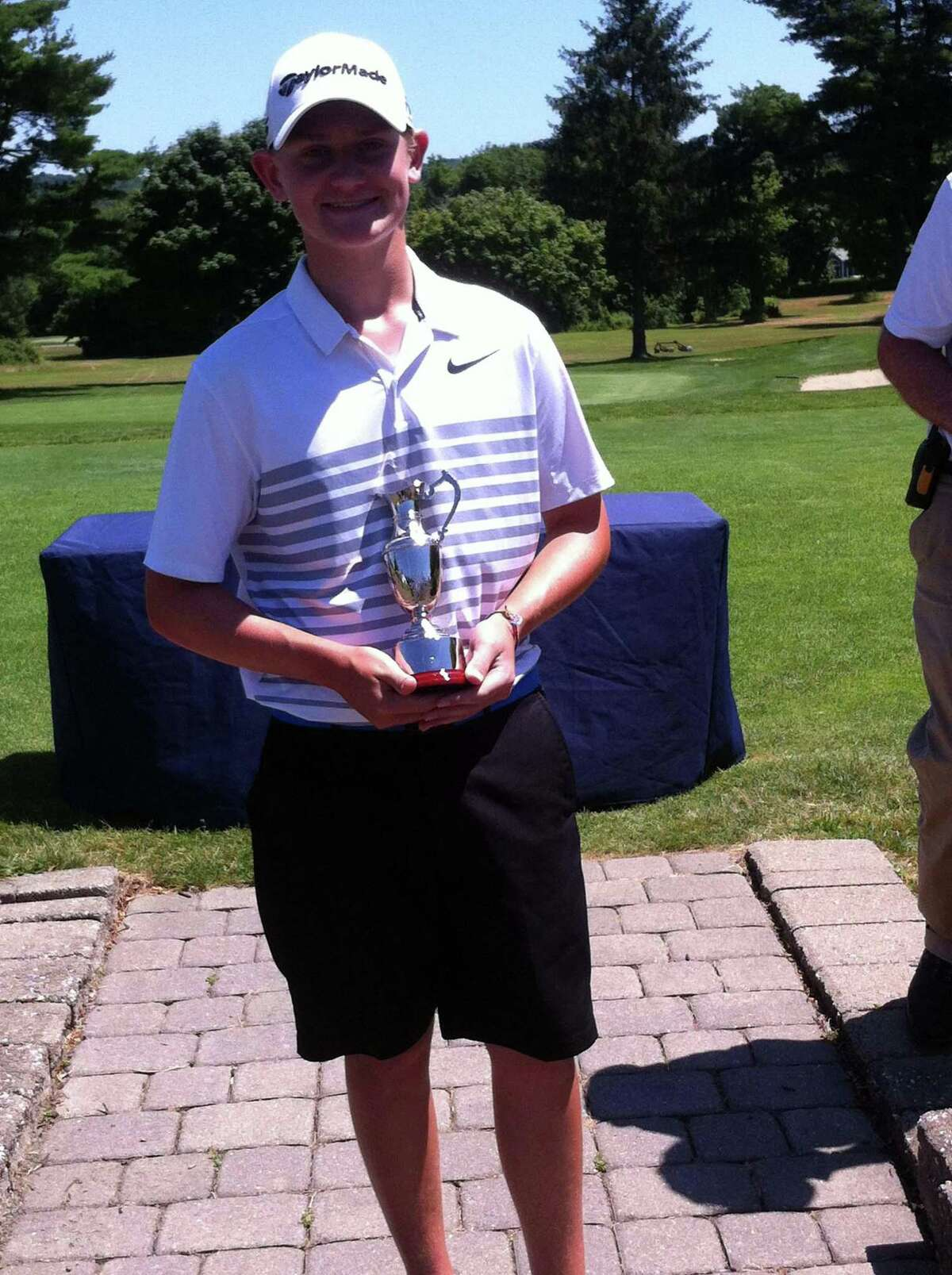 Matt Doyle, seen here in 2018, advanced to the final of the Connecticut Junior Amateur on Wednesday.