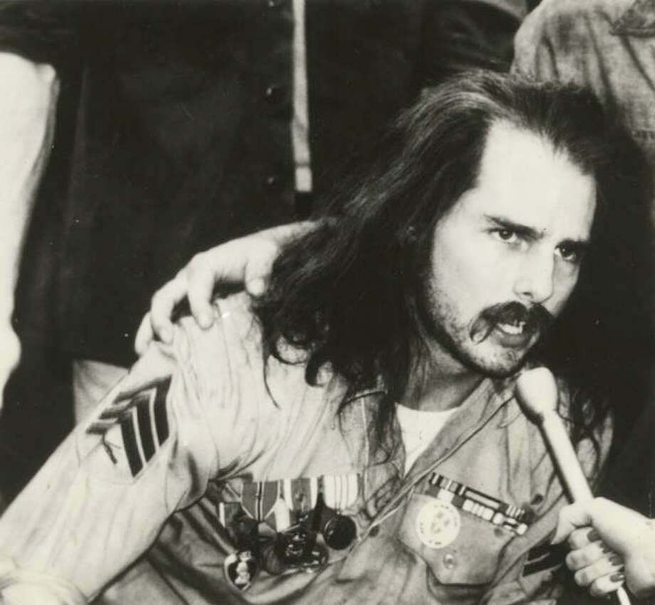 "Tom Cruise played paralyzed Vietnam veteran Ron Kovic in ""Born on the Fourth of July."" Photo: / FILE PHOTO / HANDOUT"