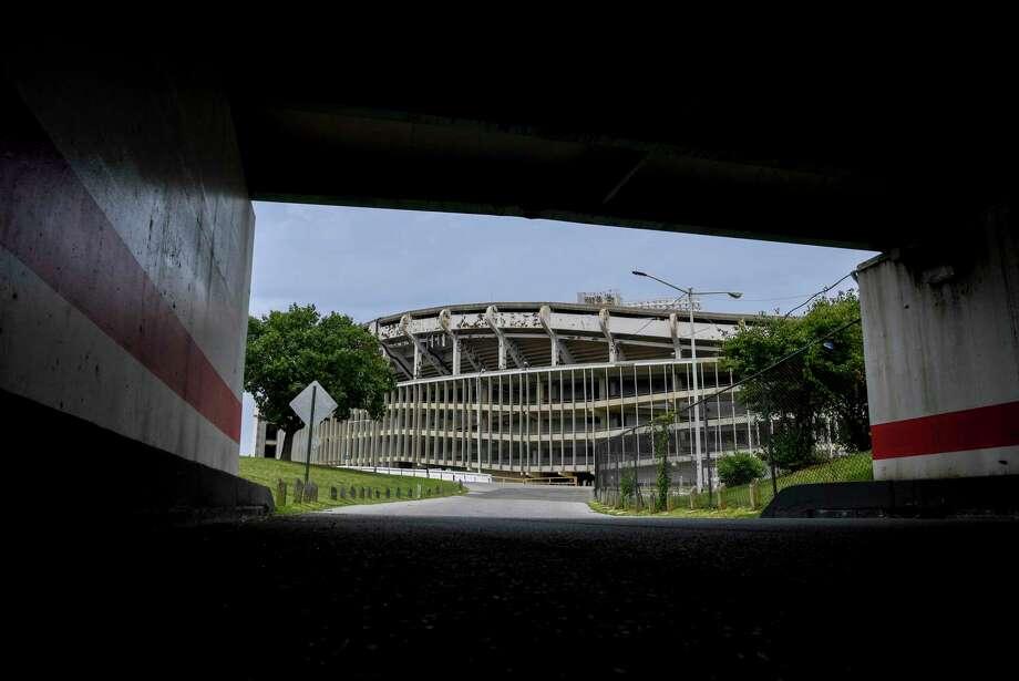RFK Stadium in Washington is scheduled to be razed in 2021. Photo: Washington Post Photo By Jonathan Newton / The Washington Post