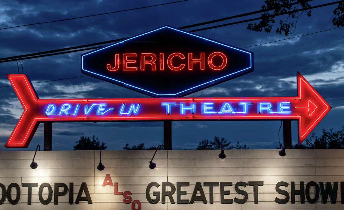 The Jericho Drive-in in Glenmont, NY on Wednesday, July 1, 2020 (Jim Franco/special to the Times Union.)