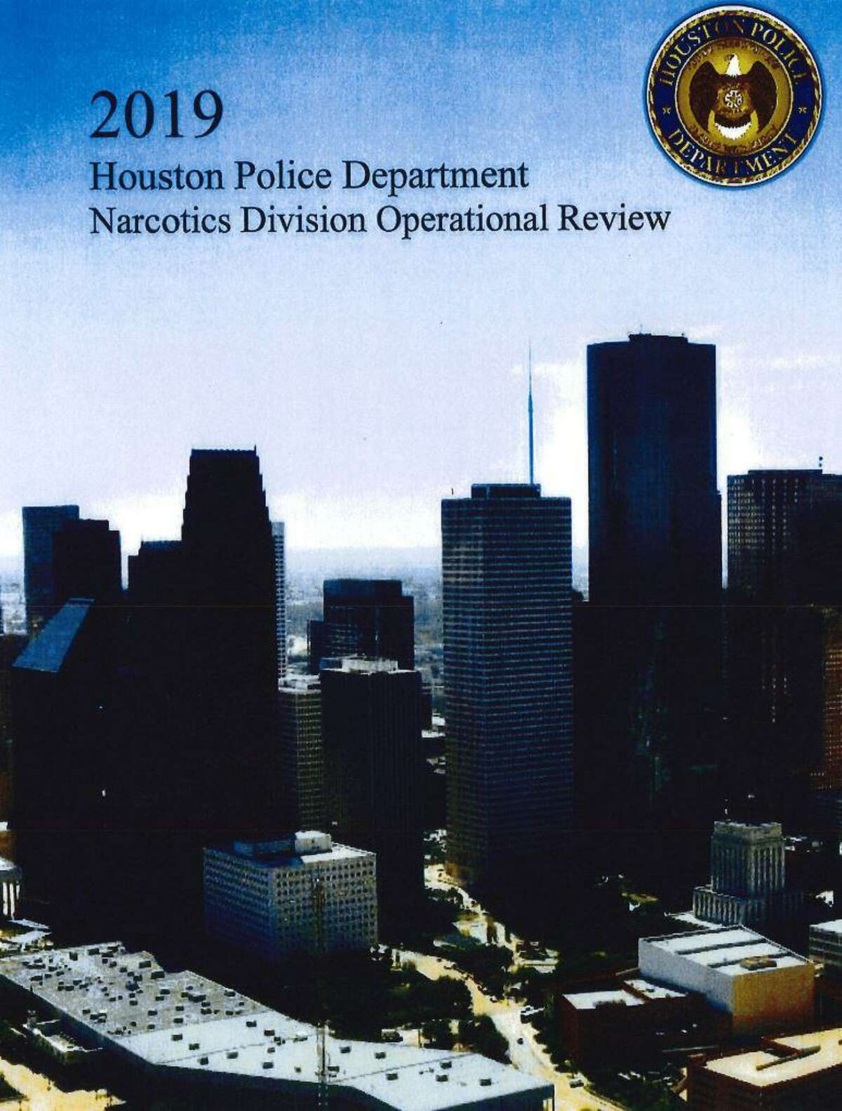 Cover photo of HPD Narc Audit