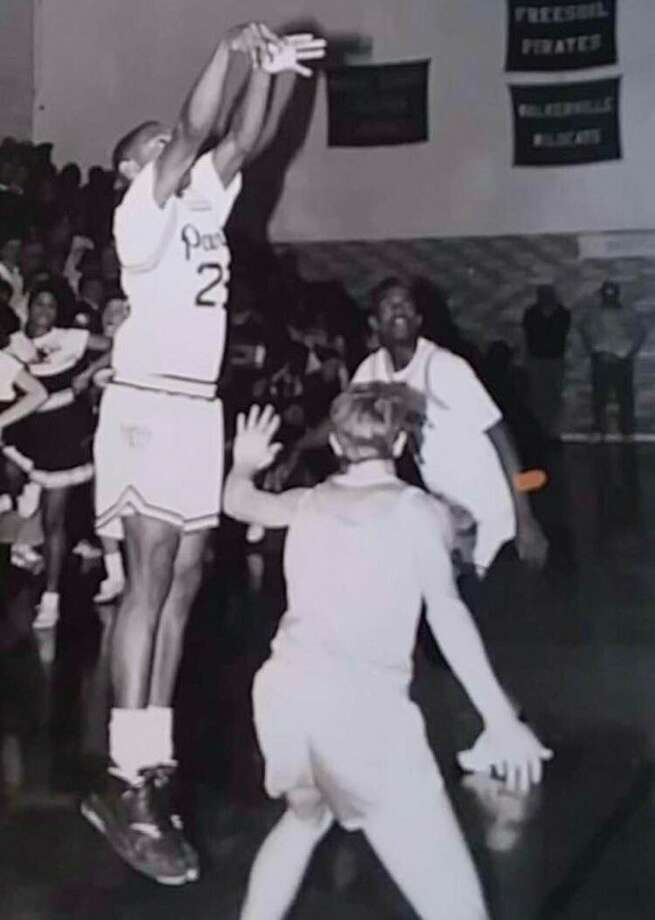 Andrei Nichols was a dangerous scorer for Baldwin during his basketball years. (Courtesy photo)