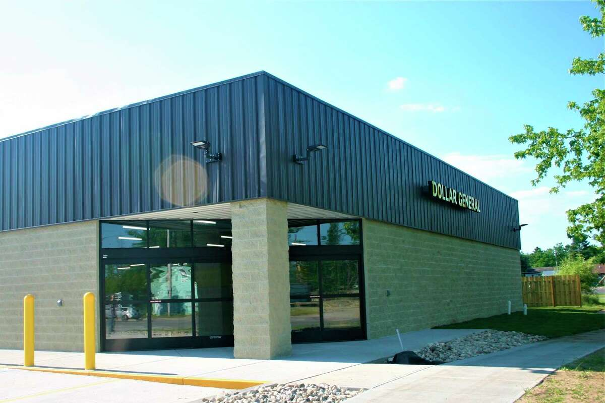 The new Dollar General Store at 1047 Michigan in Baldwin is nearing completion. Once completed, the store will move from its current location at 760 Denmark Street, to the new location. (Star photo/Cathie Crew)