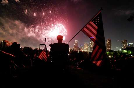 Shell Freedom Over Texas celebration airs on local TV this year, with music and fireworks, but no crowds like there was for last year's festival at Buffalo Bayou.