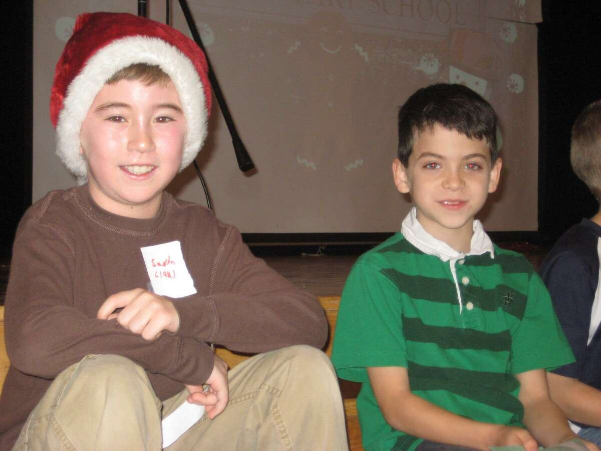 Ryan Krolikowski, and Davis Shattan, pictured as third grade classmates at West School in New Canaan, are both bound for the United States Military Academy at West Point in the fall.