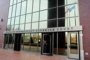 Entrance to the state Superior Court on White Street in Danbury, Conn.