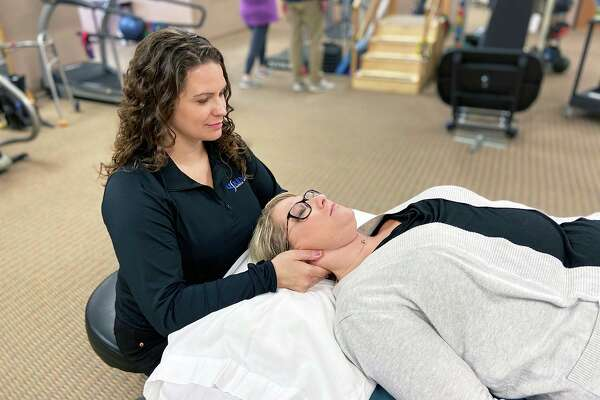 Alicia Heading, PT, DPT, will oversee operations at the Renue Physical Therapy clinic inside the Greater Midland Community Center. (Photo provided)