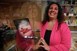 Novelist Kitty Berry, of Trumbull, organized the first RomantiConn romance novel convention.