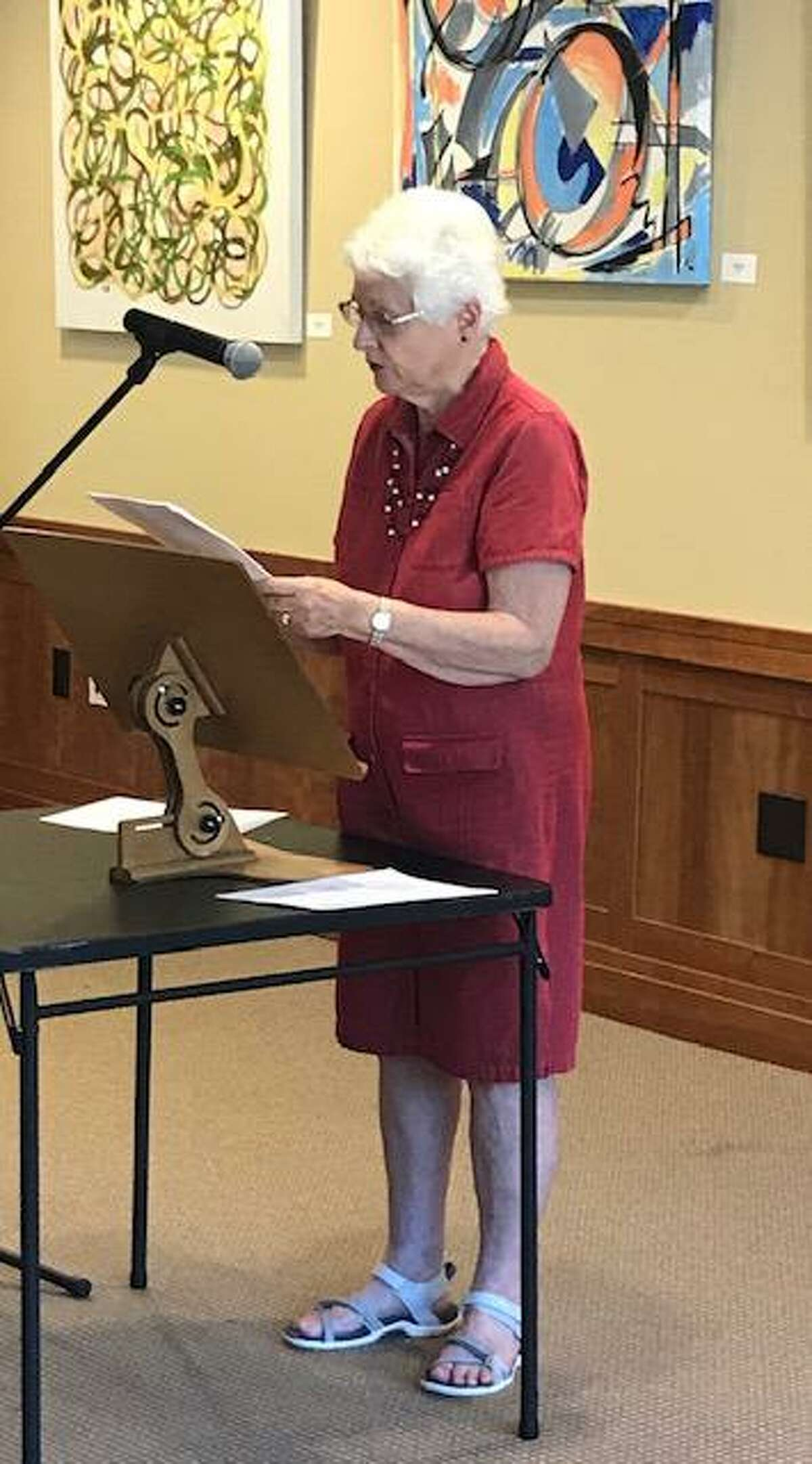 Writers and poets have an Open Mic night of their own in Cos Cob.