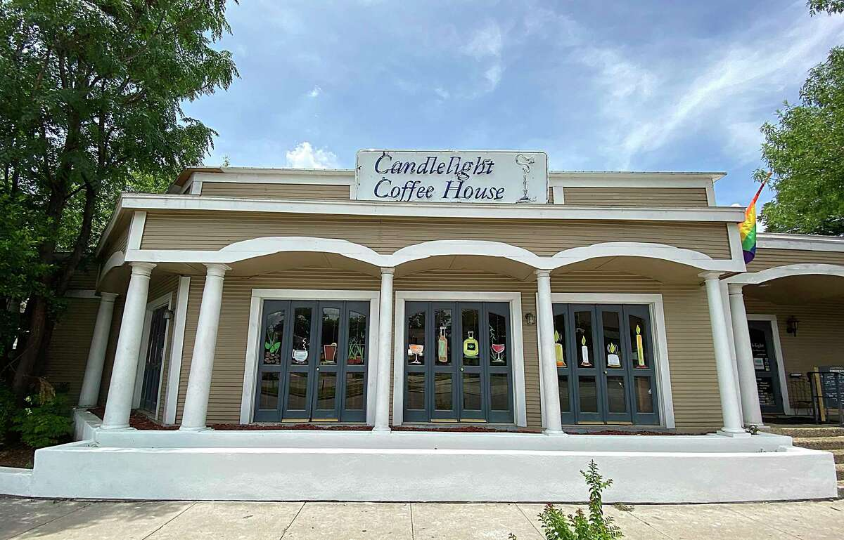 Candlelight Coffeehouse is a restaurant, bar and coffee shop on North St. Mary's Street.