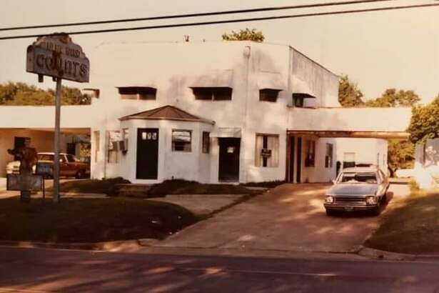 The Blue Bird Courts were a resting place for weary travelers along Texas 75 in Conroe from 1947 through the late 1970s.