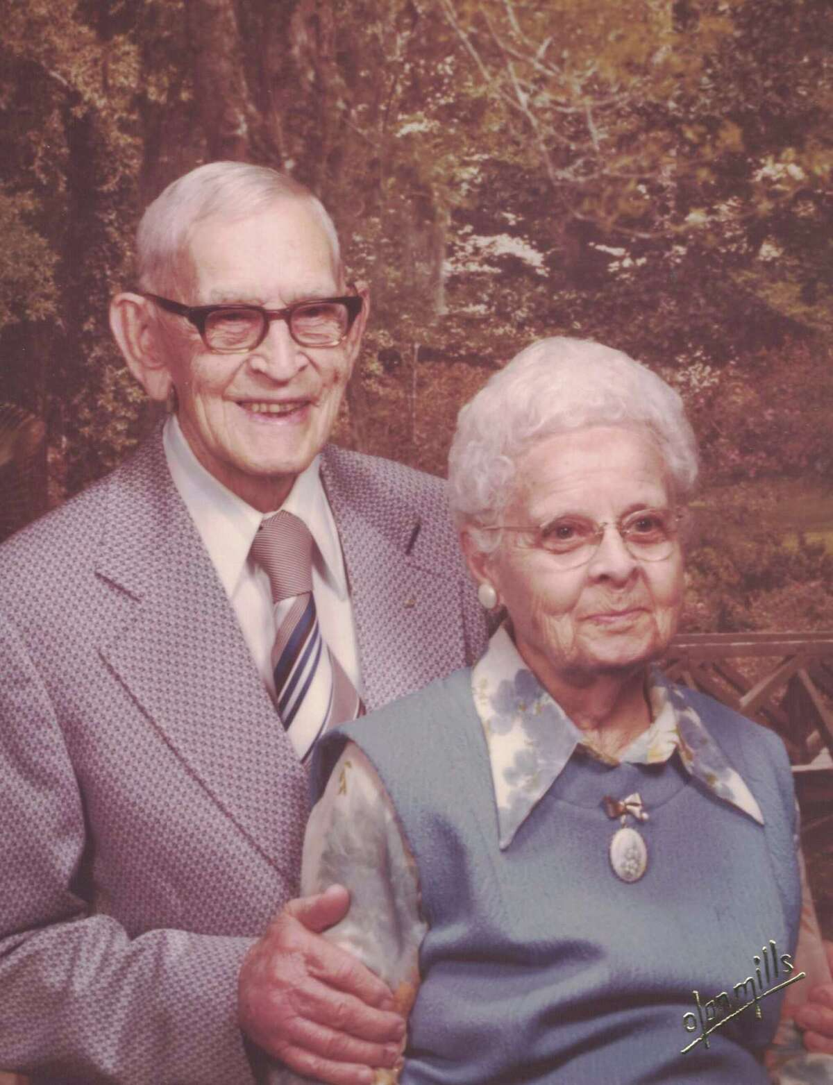 """Abner H. """"Whitey"""" Crouch and Rose Crouch owned The Blue Bird Courts hotel in Conroe from 1947 through the mid-1960s."""