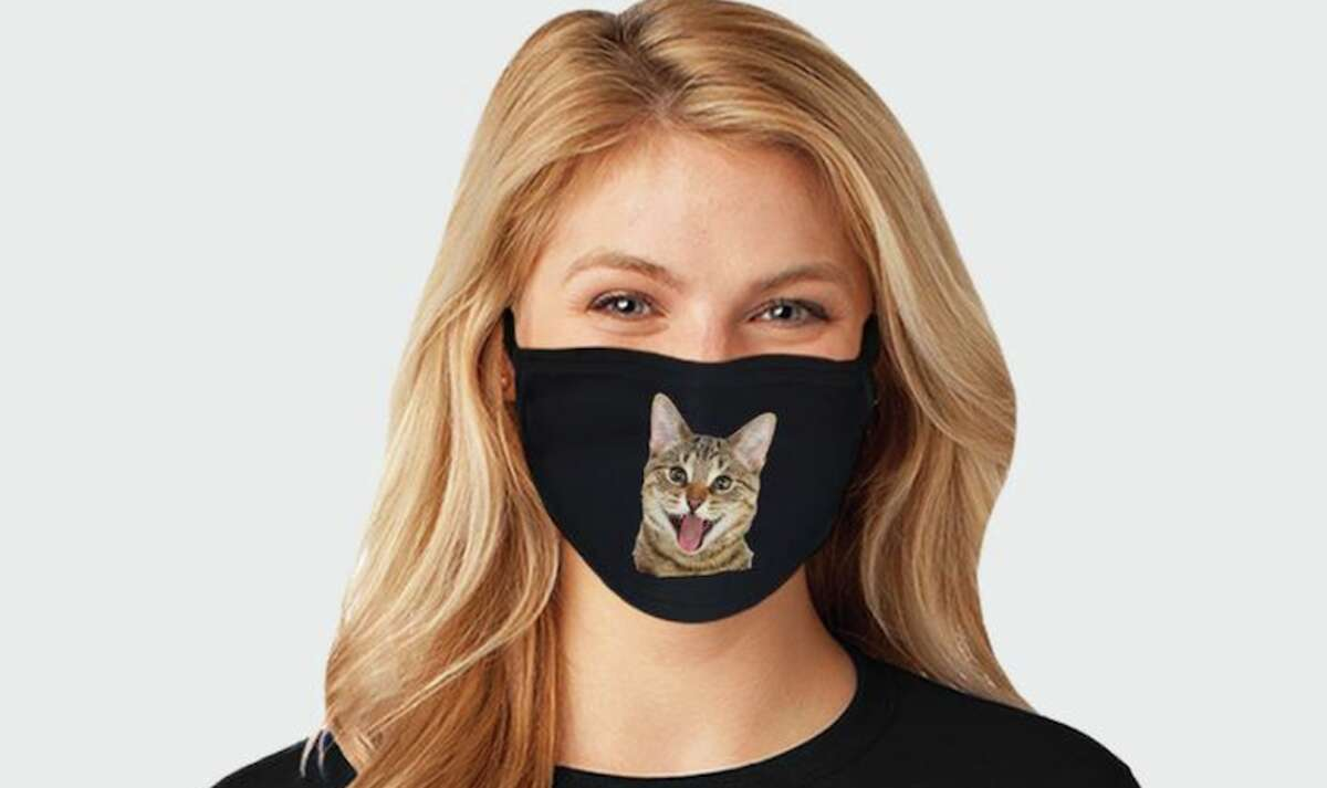 NacreBoutique Price: $4.99 for a plain mask, $12.99 for a custom mask You can make any kind of custom face mask when you shop NacreBoutique on Etsy. But why use a boring ol' image when you can put a cute picture of your pet on your face? You can get custom masks for $12.99 and toss a few plain masks in your cart for $4.99 each.