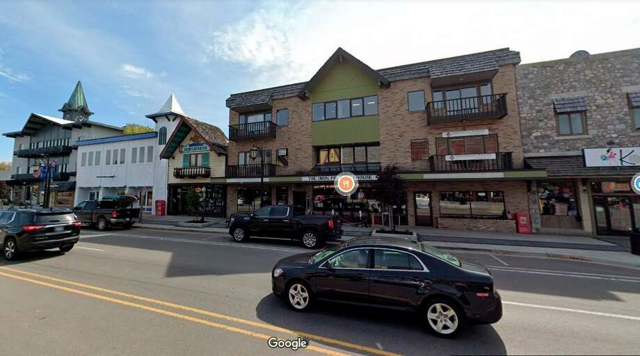 """Gaylord is known as the """"Alpine Village"""" because its downtown buildings adorn a Swiss chalet-style architecture, paying homage to its sister city, Pontresina, Switzerland. (Screen photo/Google Maps)"""